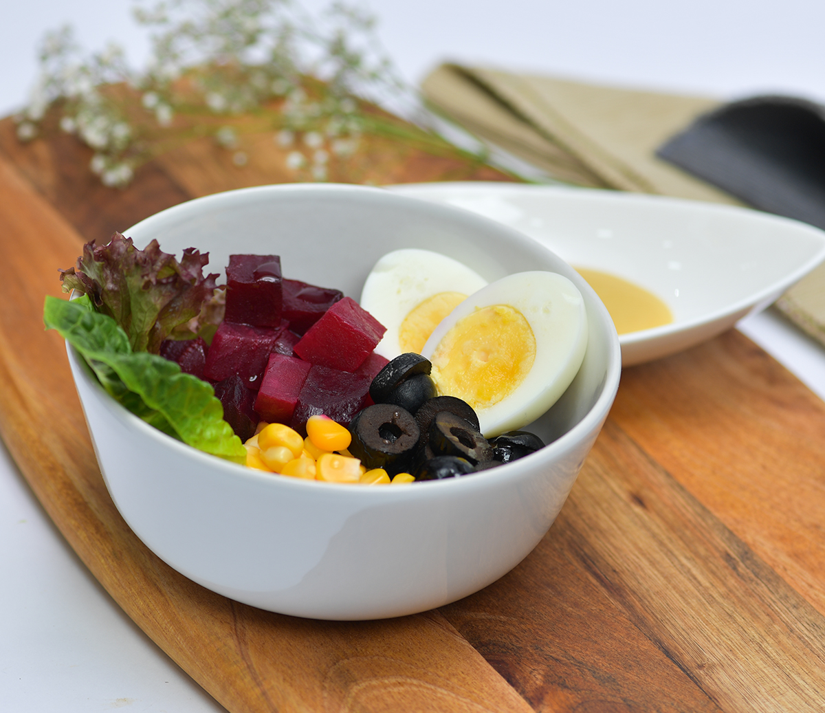 Beetroot Egg Salad