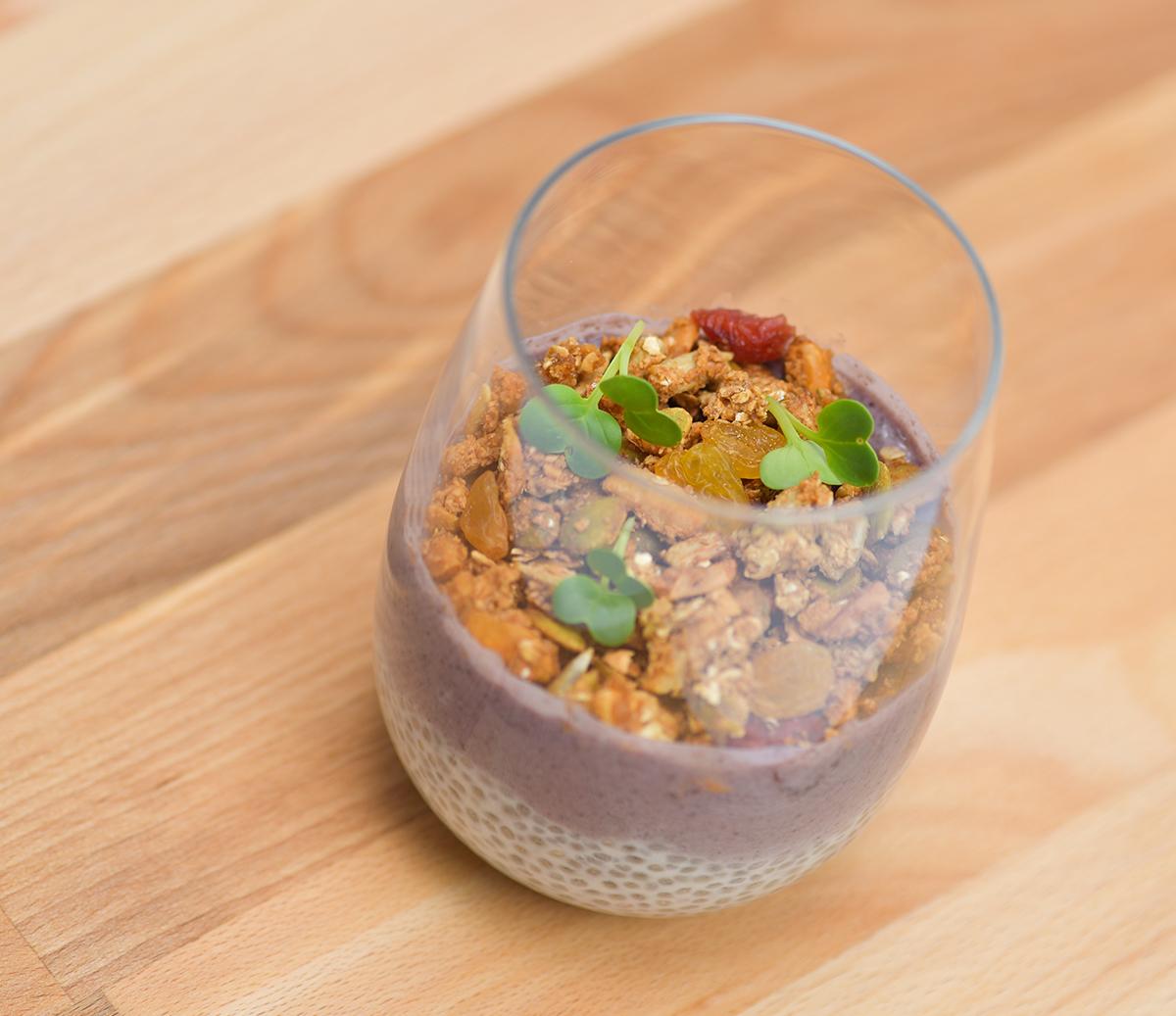 Blueberry Chia Granola