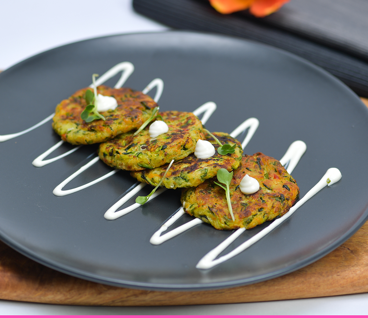 Grilled Zucchini Fritters