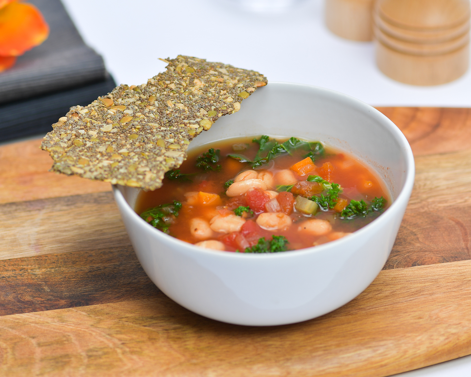 Beans and Kale Soup