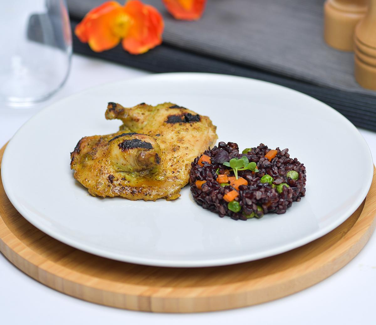 Chicken Cajun Brown Rice
