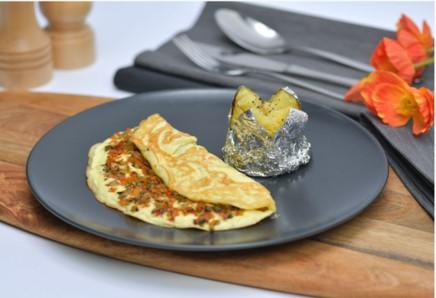 Classic Vegetable Omelette