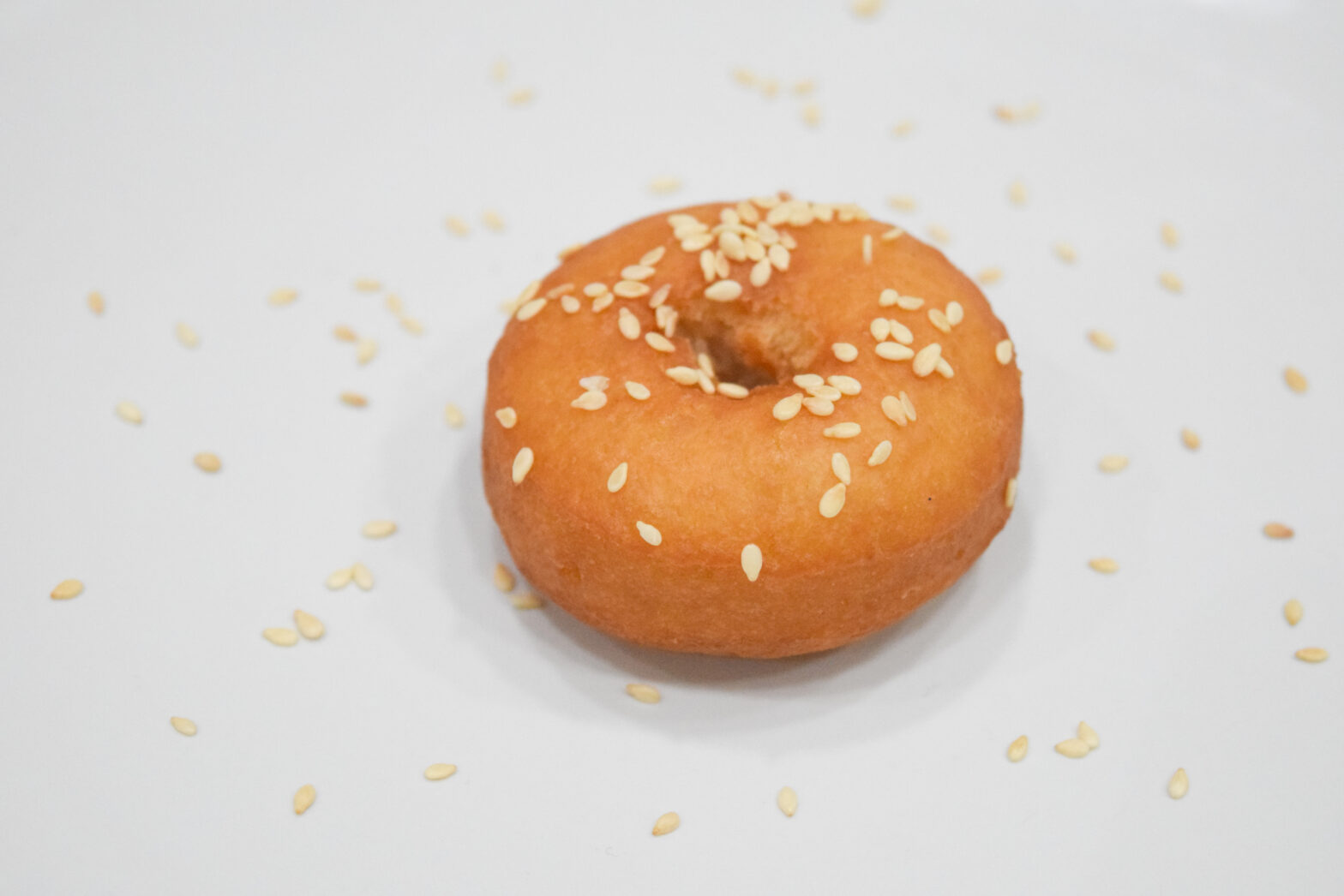 Tunisian Youyous with Sesame