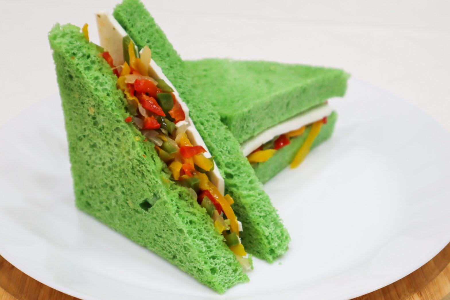 Feta Vegetable Sandwich