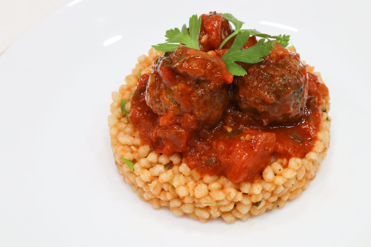 Harees with Meatballs